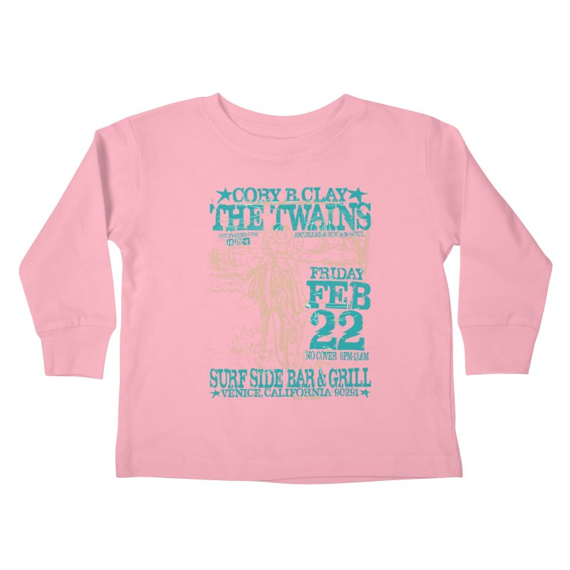 Twains Surfside on the Trail Too Kids Toddler Longsleeve T-Shirt by The Twains' Artist Shop