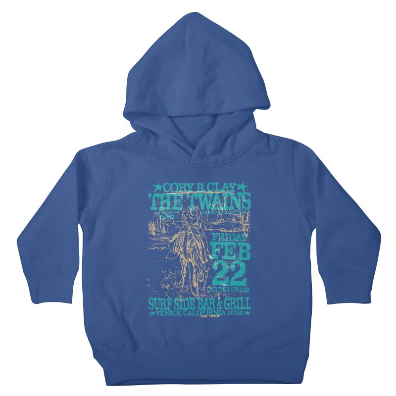 Twains Surfside on the Trail Too Kids Toddler Pullover Hoody by The Twains' Artist Shop