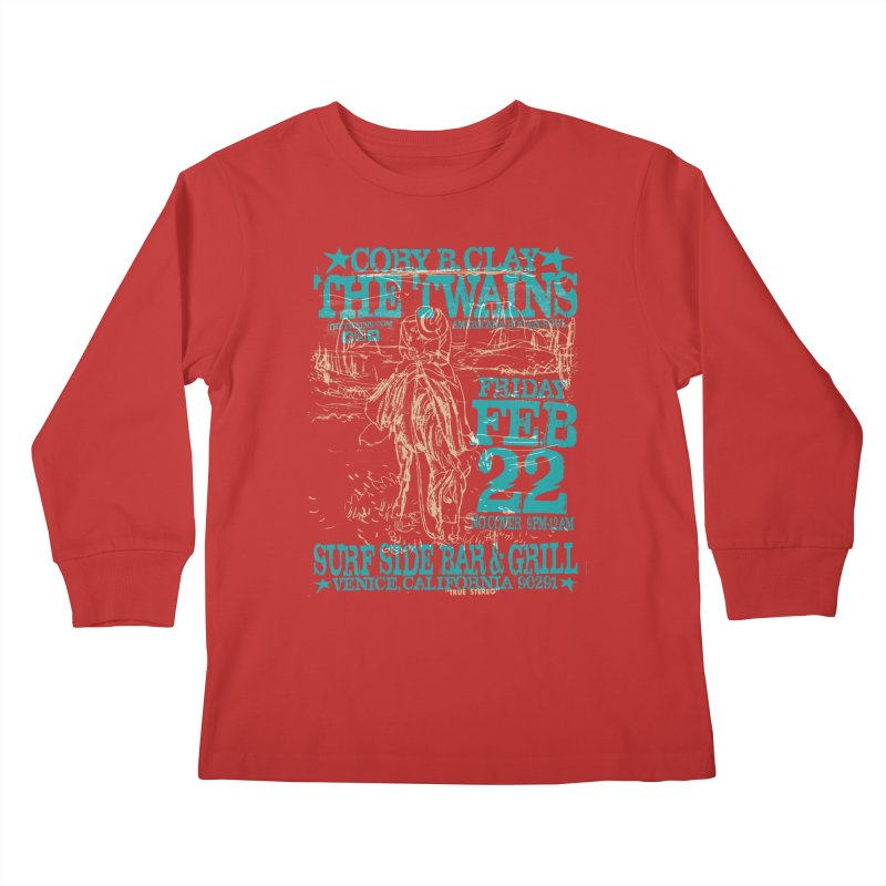 Twains Surfside on the Trail Too Kids Longsleeve T-Shirt by The Twains' Artist Shop