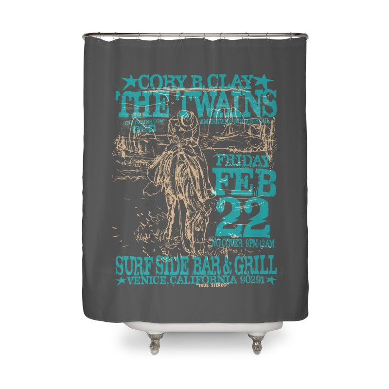 Twains Surfside on the Trail Too Home Shower Curtain by The Twains' Artist Shop