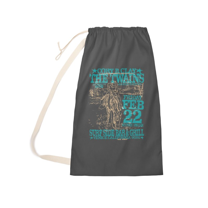 Twains Surfside on the Trail Too Accessories Bag by The Twains' Artist Shop
