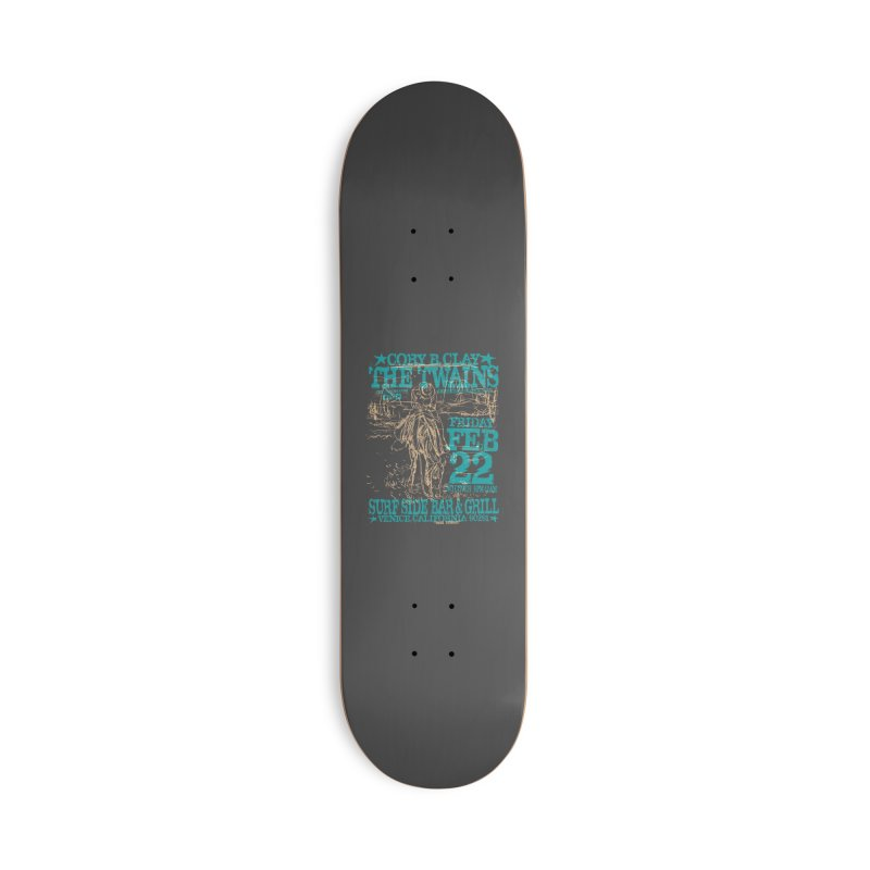Twains Surfside on the Trail Too Accessories Skateboard by The Twains' Artist Shop