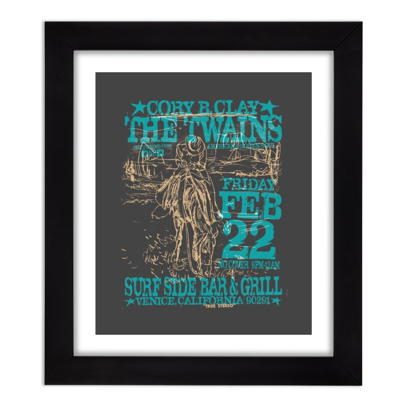Twains Surfside on the Trail Too Home Framed Fine Art Print by The Twains' Artist Shop
