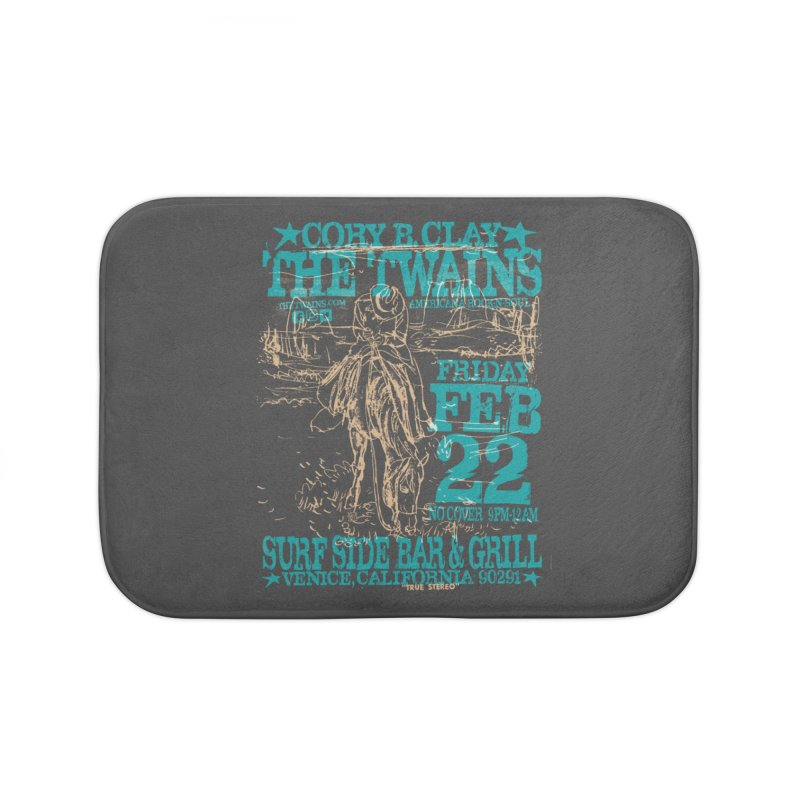 Twains Surfside on the Trail Too Home Bath Mat by The Twains' Artist Shop
