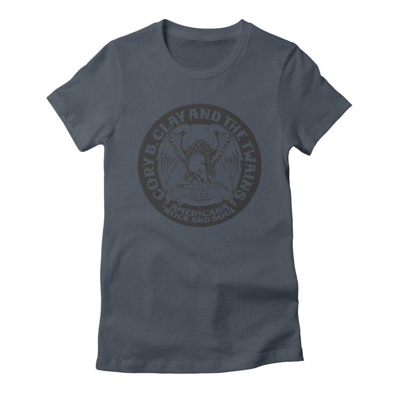 Rock & Soul Eagle Women's T-Shirt by The Twains' Artist Shop