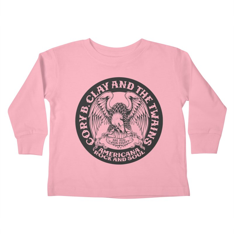 Rock & Soul Eagle Kids Toddler Longsleeve T-Shirt by The Twains' Artist Shop