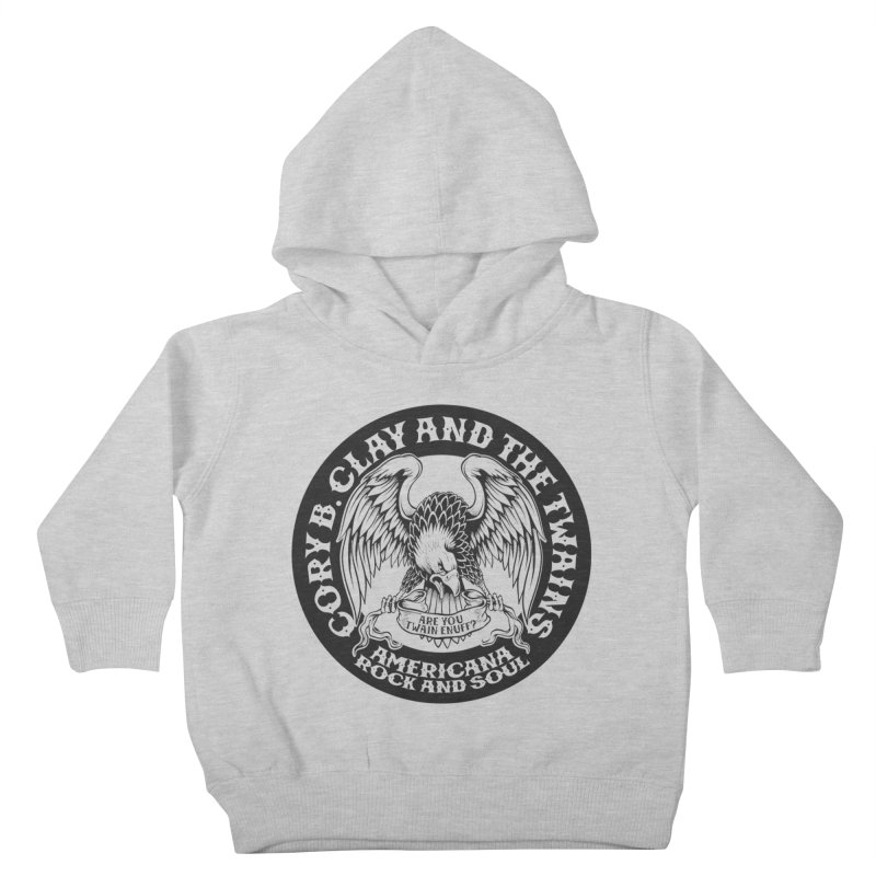 Rock & Soul Eagle Kids Toddler Pullover Hoody by The Twains' Artist Shop