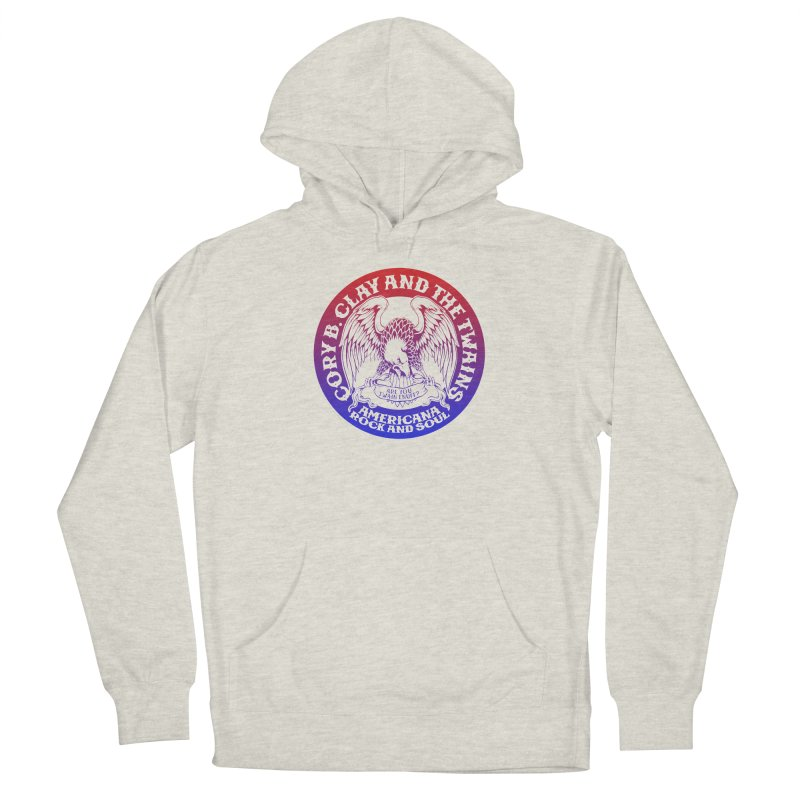 Americana Twains Eagle Men's Pullover Hoody by The Twains' Artist Shop