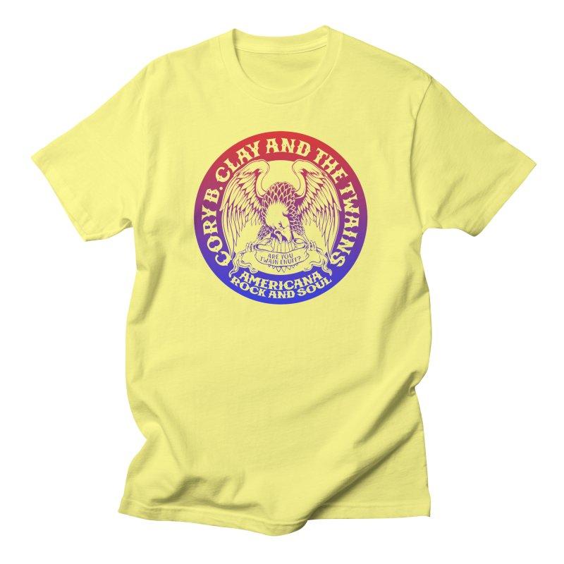 Americana Twains Eagle Men's T-Shirt by The Twains' Artist Shop