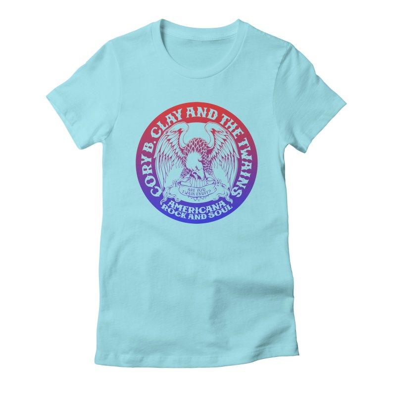 Americana Twains Eagle Women's T-Shirt by The Twains' Artist Shop