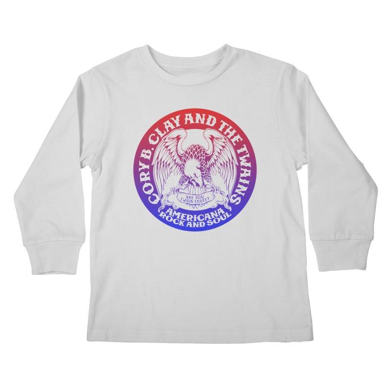Americana Twains Eagle Kids Longsleeve T-Shirt by The Twains' Artist Shop