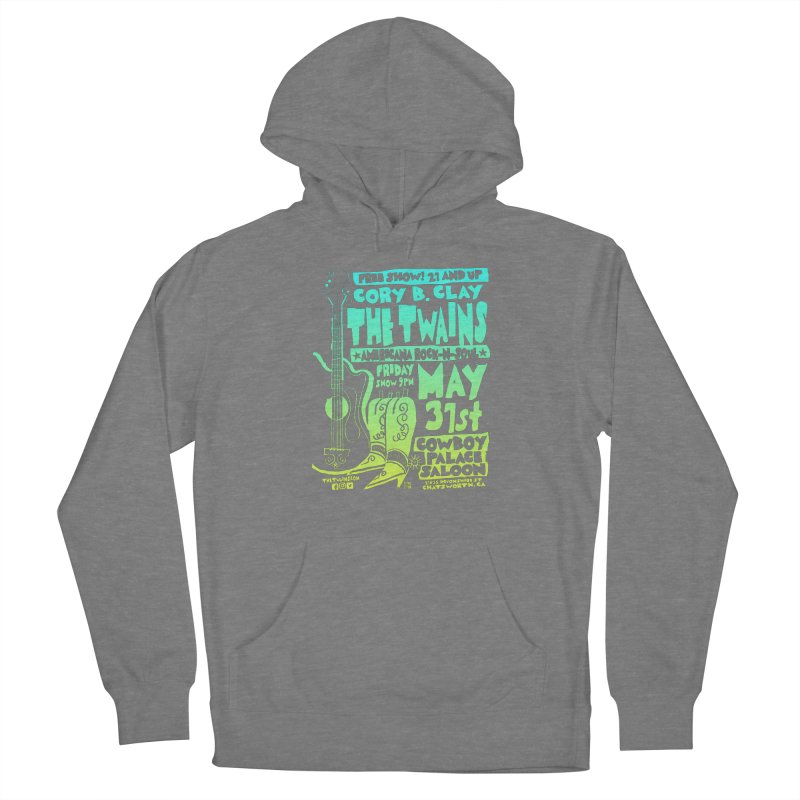 Cowboy Palace Boots or Nothin' Women's Pullover Hoody by The Twains' Artist Shop