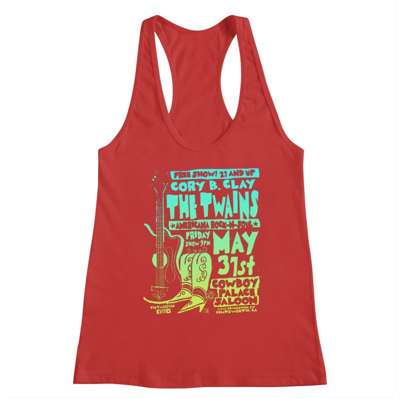 Cowboy Palace Boots or Nothin' Women's Tank by The Twains' Artist Shop