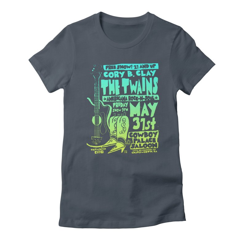 Cowboy Palace Boots or Nothin' Women's T-Shirt by The Twains' Artist Shop