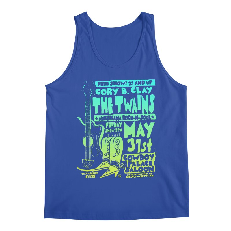 Cowboy Palace Boots or Nothin' Men's Tank by The Twains' Artist Shop