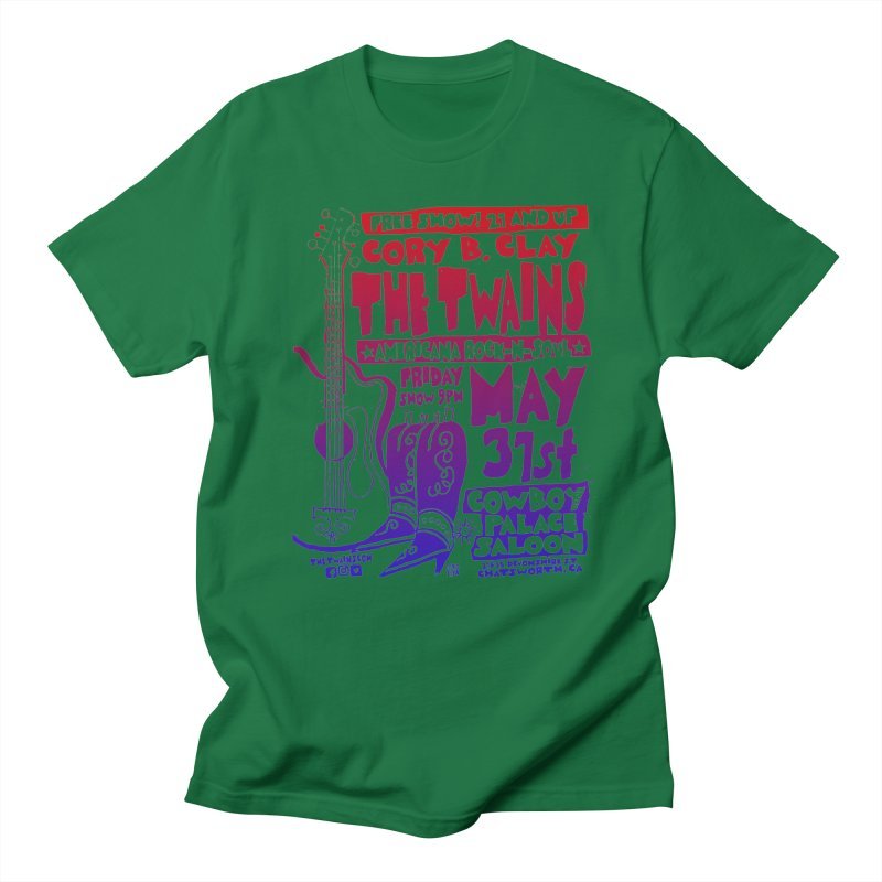 Cowboy Palace Saloon Official Twains Women's T-Shirt by The Twains' Artist Shop