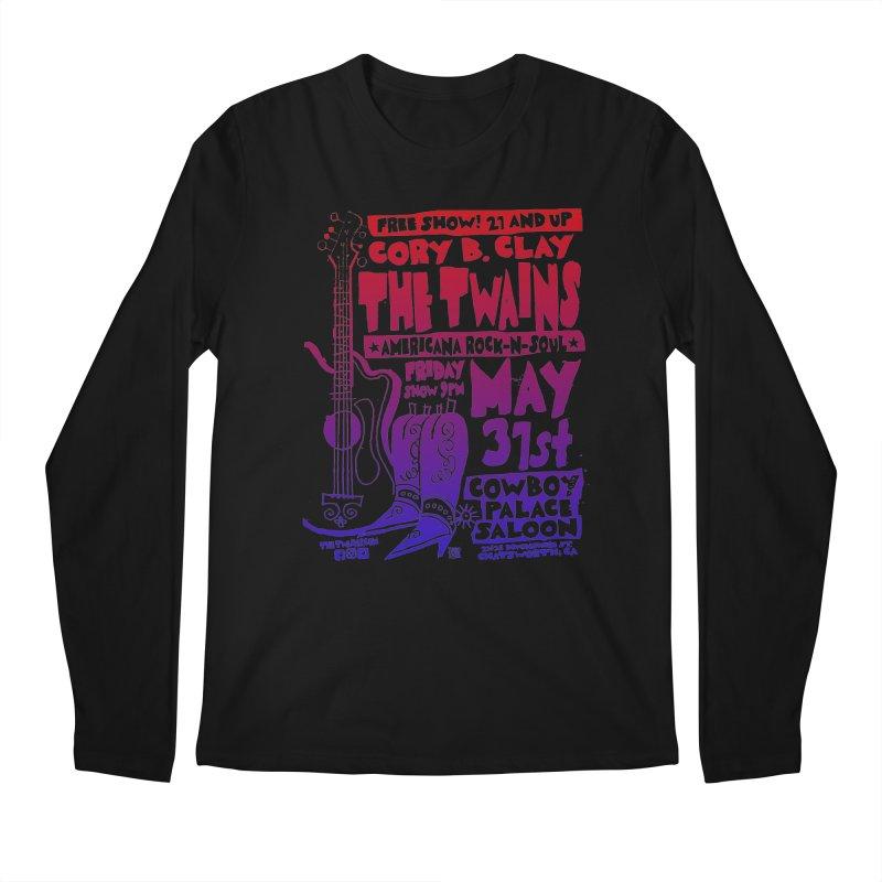 Cowboy Palace Saloon Official Twains Men's Longsleeve T-Shirt by The Twains' Artist Shop