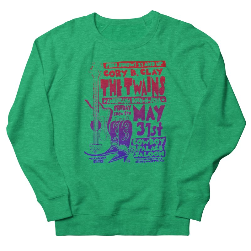 Cowboy Palace Saloon Official Twains Women's Sweatshirt by The Twains' Artist Shop