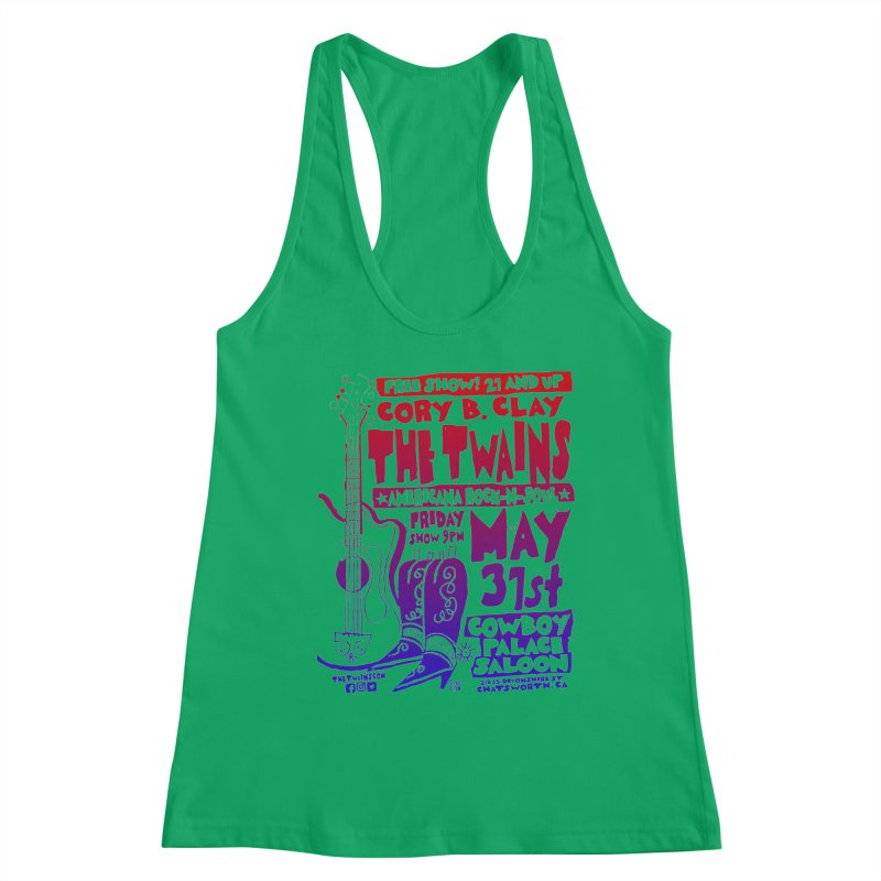 Cowboy Palace Saloon Official Twains Women's Tank by The Twains' Artist Shop