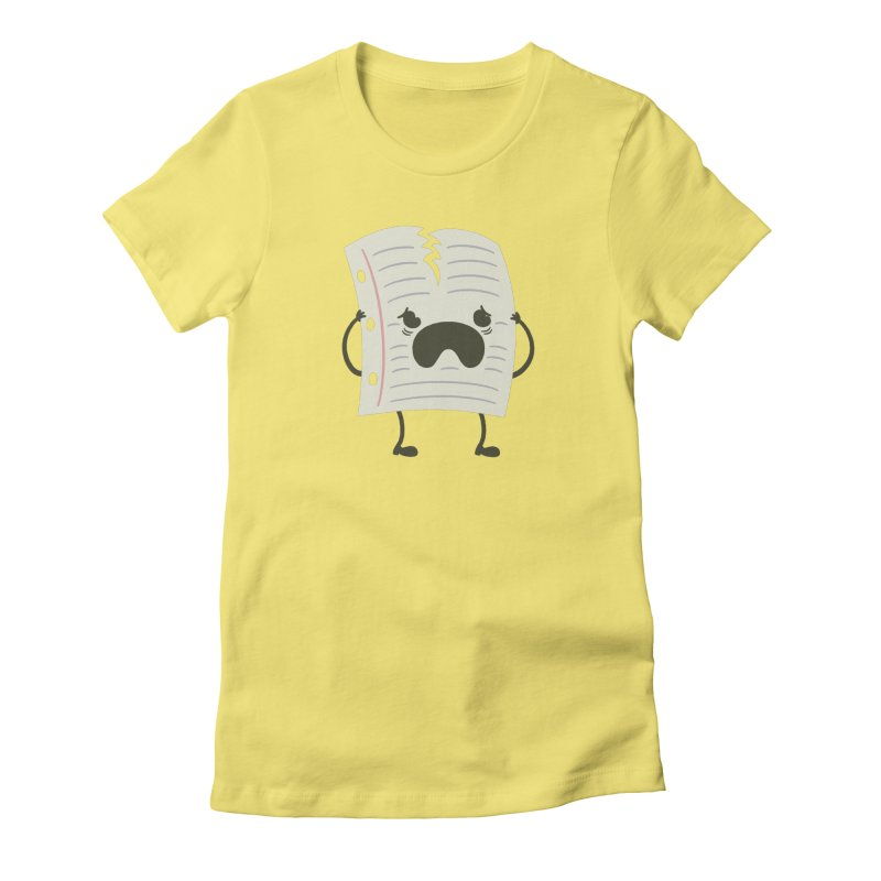 this is tearing me apart! Women's Fitted T-Shirt by theValentin's Artist Shop
