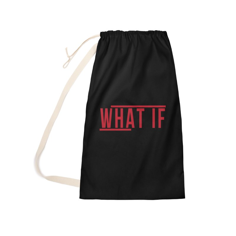 WHAT IF Accessories Bag by the vertical church's Artist Shop