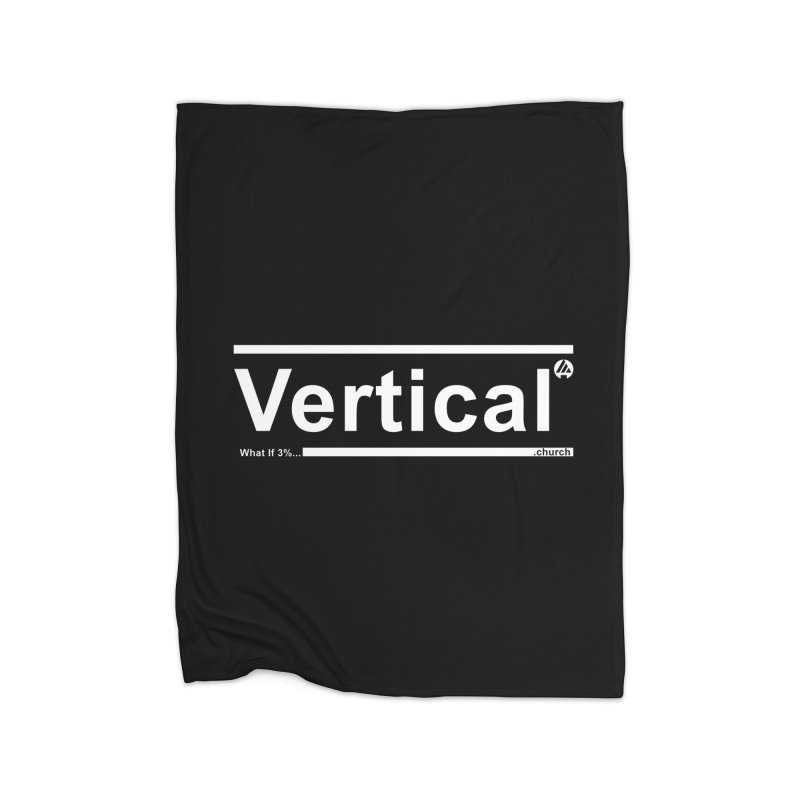 Vertical Minimalist Home Blanket by the vertical church's Artist Shop