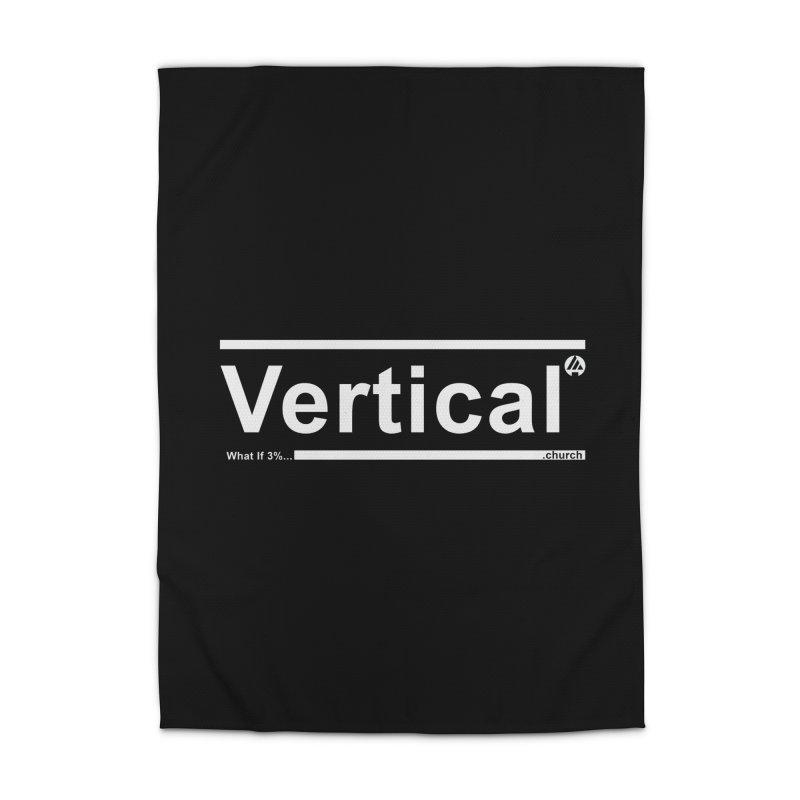 Vertical Minimalist Home Rug by the vertical church's Artist Shop
