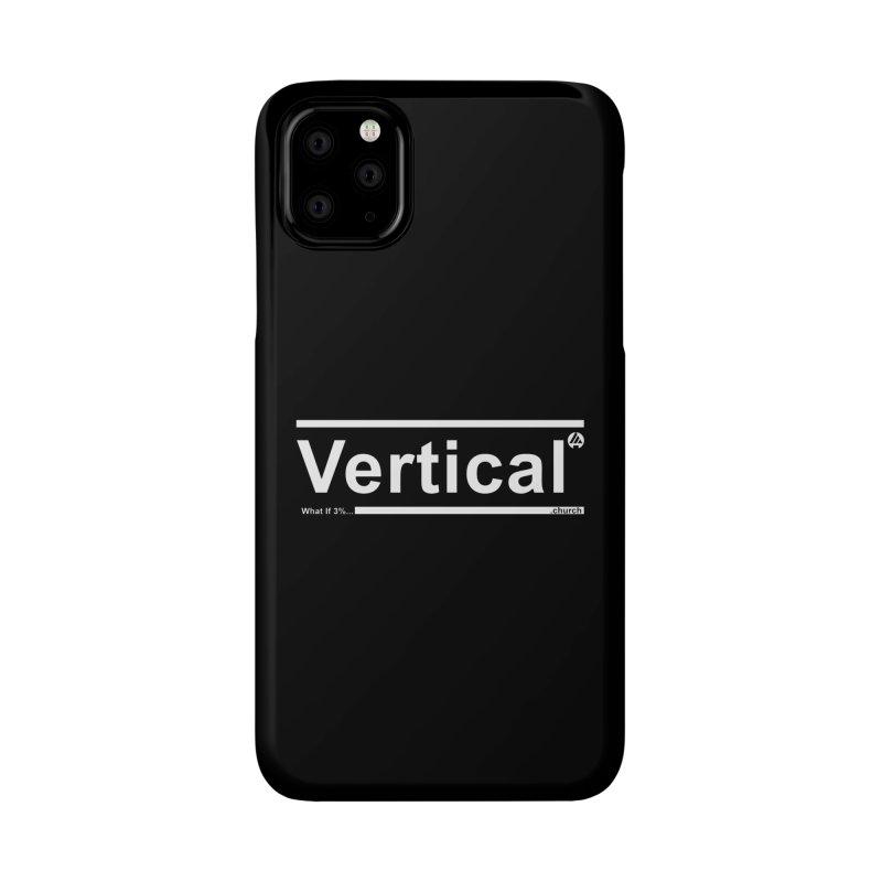 Vertical Minimalist Accessories Phone Case by the vertical church's Artist Shop