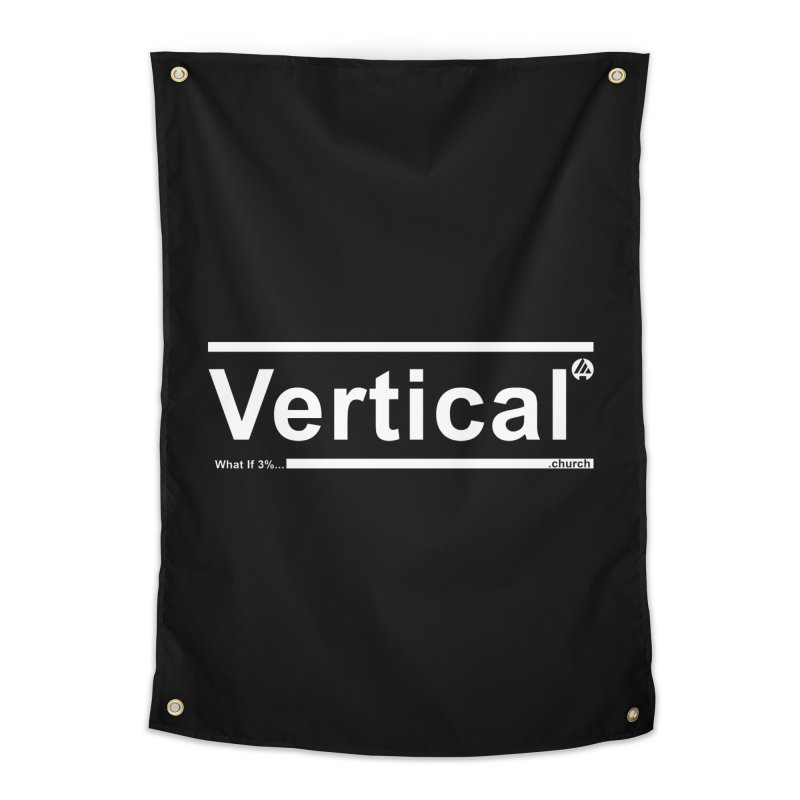 Vertical Minimalist Home Tapestry by the vertical church's Artist Shop