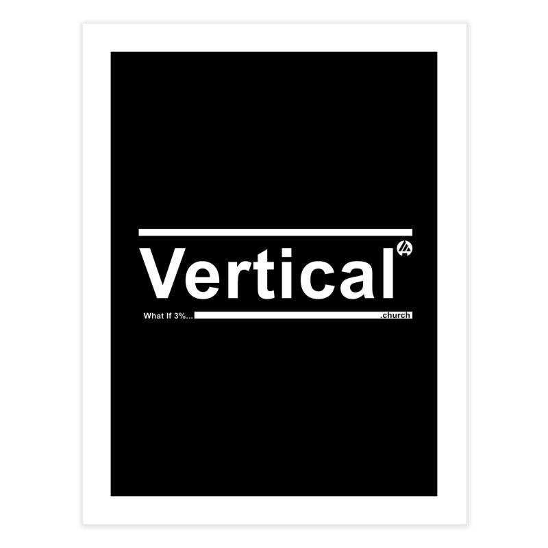 Vertical Minimalist Home Fine Art Print by the vertical church's Artist Shop
