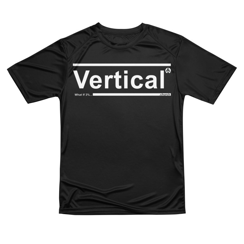 Vertical Minimalist Men's T-Shirt by the vertical church's Artist Shop