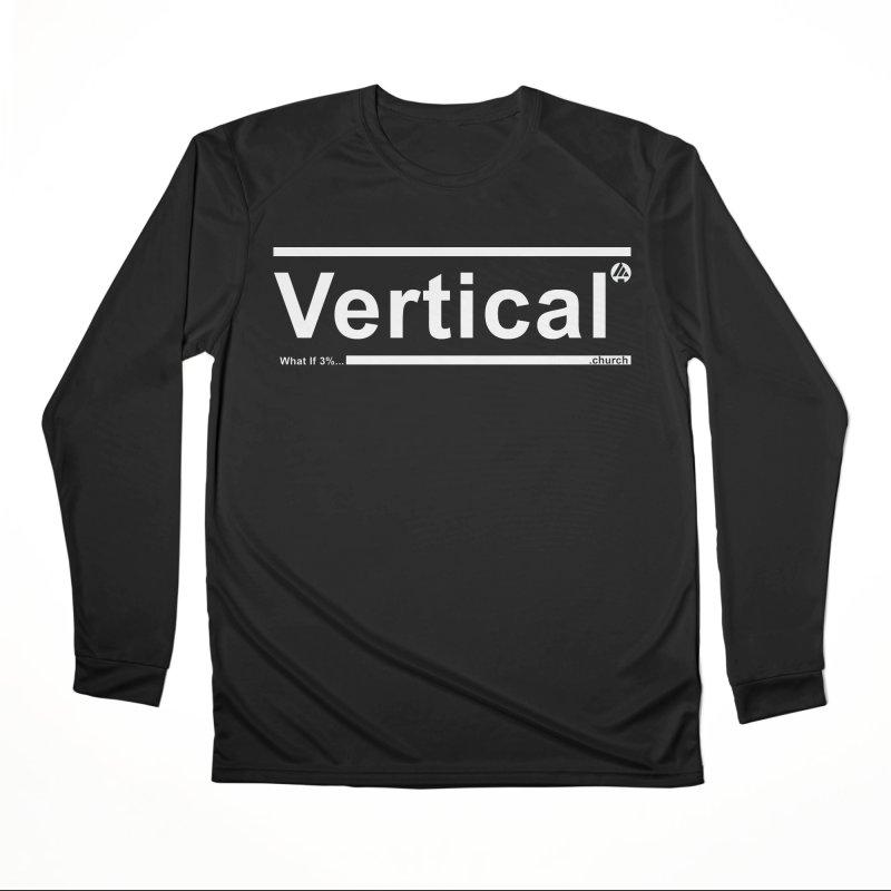 Vertical Minimalist Men's Longsleeve T-Shirt by the vertical church's Artist Shop