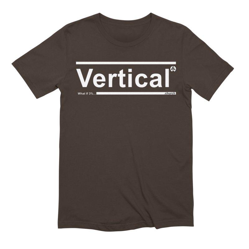 Vertical Minimalist Men's Extra Soft T-Shirt by the vertical church's Artist Shop