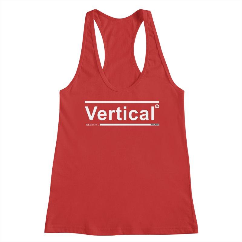 Vertical Minimalist Women's Tank by the vertical church's Artist Shop