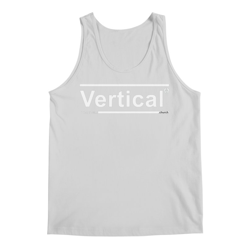 Vertical Minimalist Men's Tank by the vertical church's Artist Shop