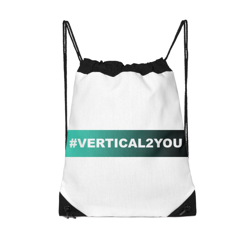 #Vertical2You Accessories Bag by the vertical church's Artist Shop