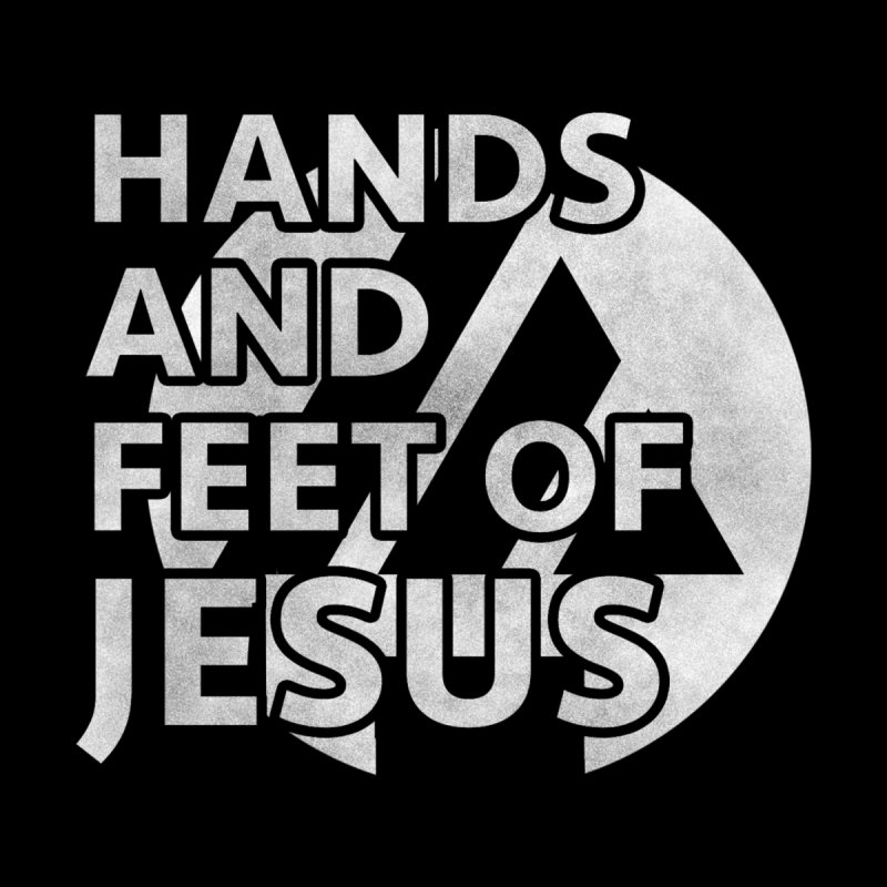 hands and feet Men's T-Shirt by the vertical church's Artist Shop