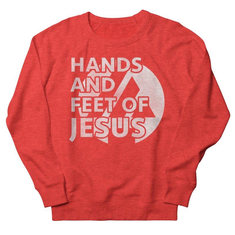 hands and feet Men's Sweatshirt by the vertical church's Artist Shop