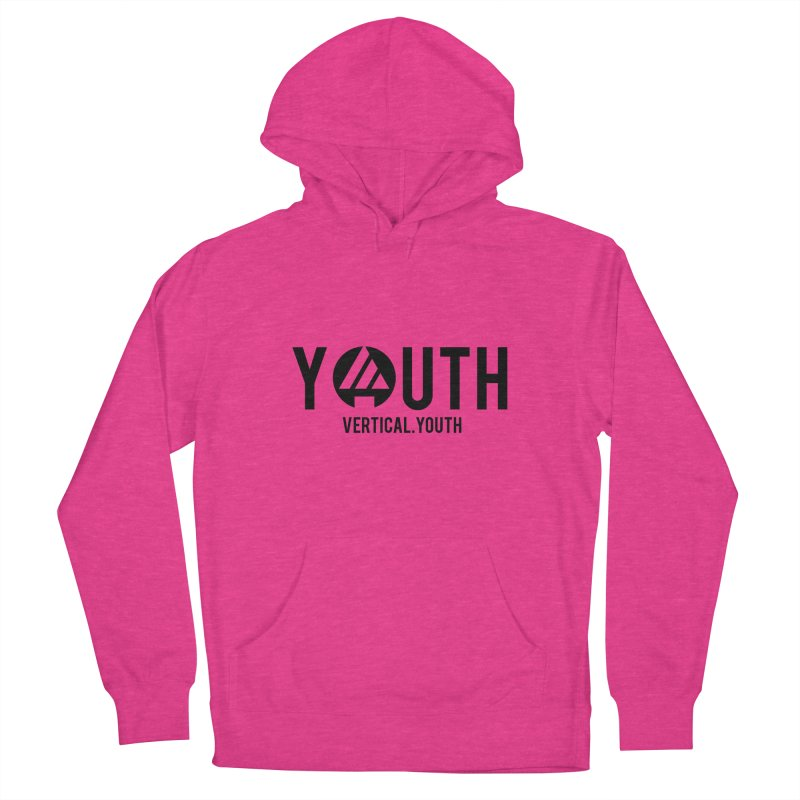 Youth Logo Black Women's Pullover Hoody by the vertical church's Artist Shop