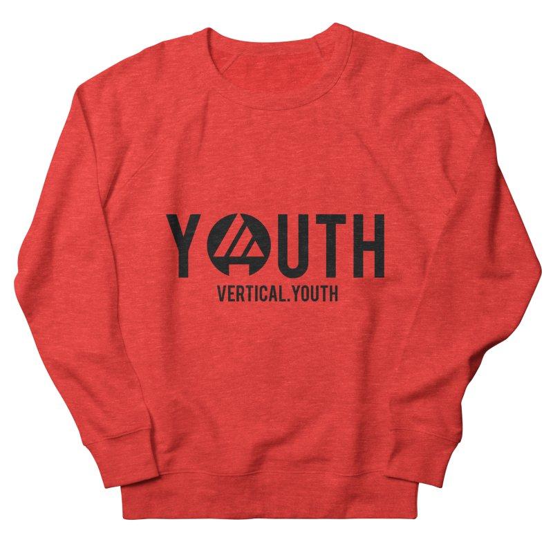 Youth Logo Black Women's Sweatshirt by the vertical church's Artist Shop
