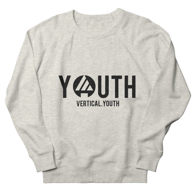 Youth Logo Black Men's Sweatshirt by the vertical church's Artist Shop
