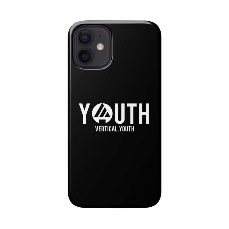 Youth Logo White Accessories Phone Case by the vertical church's Artist Shop