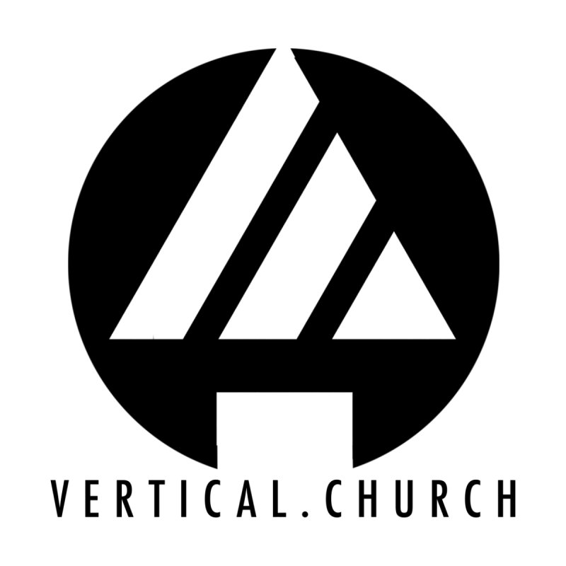 Vertical Church Logo Black Kids T-Shirt by the vertical church's Artist Shop