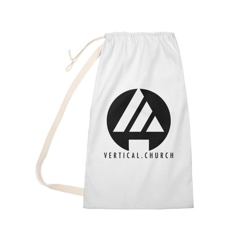 Vertical Church Logo Black Accessories Bag by the vertical church's Artist Shop
