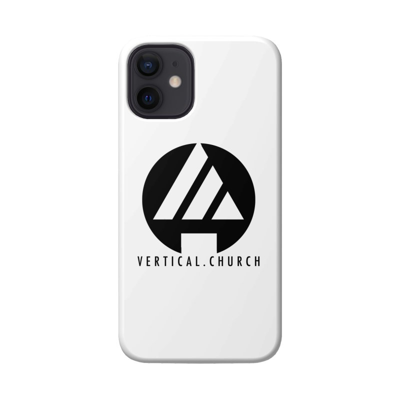 Vertical Church Logo Black Accessories Phone Case by the vertical church's Artist Shop