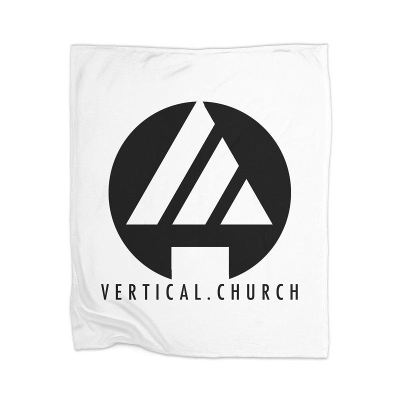Vertical Church Logo Black Home Blanket by the vertical church's Artist Shop