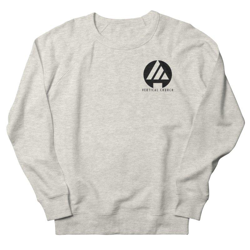 Vertical Church Logo Black Men's Sweatshirt by the vertical church's Artist Shop