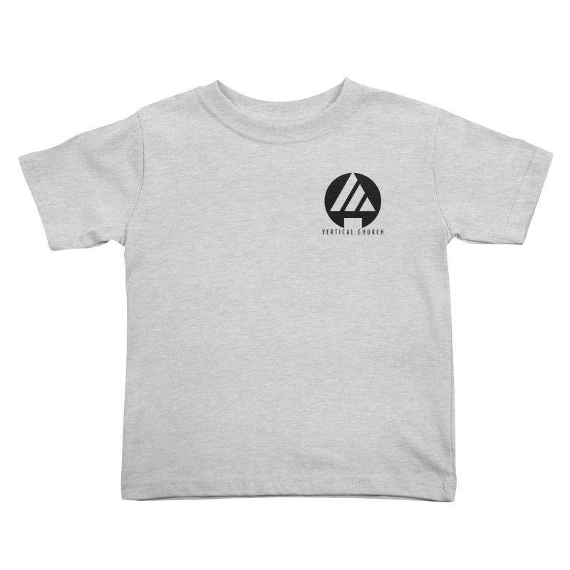 Vertical Church Logo Black Kids Toddler T-Shirt by the vertical church's Artist Shop
