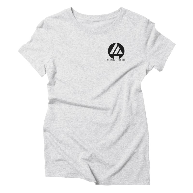 Vertical Church Logo Black Women's T-Shirt by the vertical church's Artist Shop