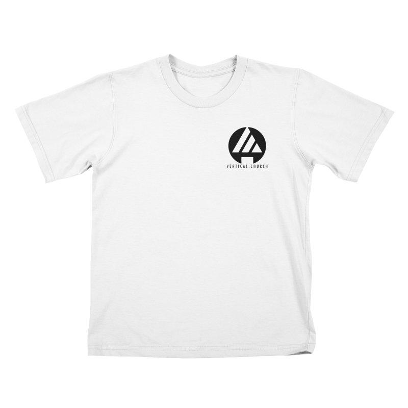 Vertical Church Logo Black Kids T-Shirt by the vertical church's Artist Shop